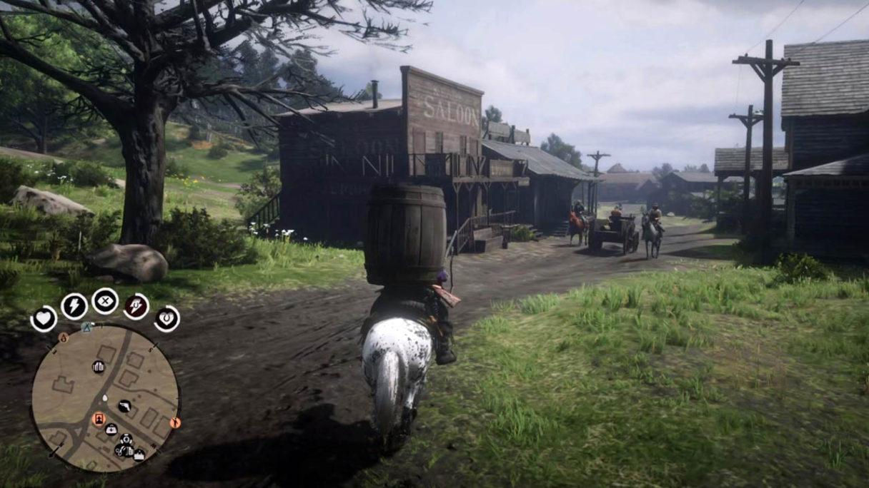 Red Dead Redemption 2 - Arthur Beczkomorgan