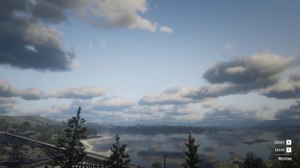 Red Dead Redemption 2 pogoda