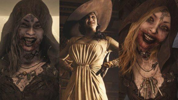 Resident Evil Village - Bela, Lady Dimitrescu, Cassandra