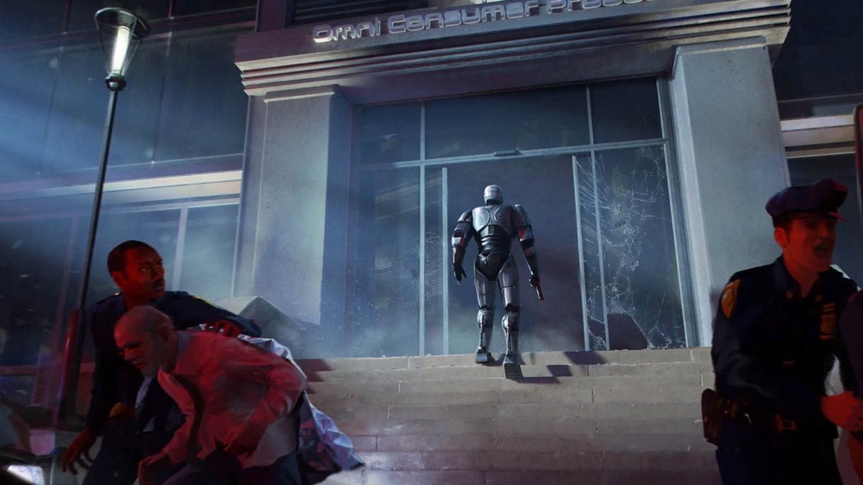RoboCop: Rogue City - grafika