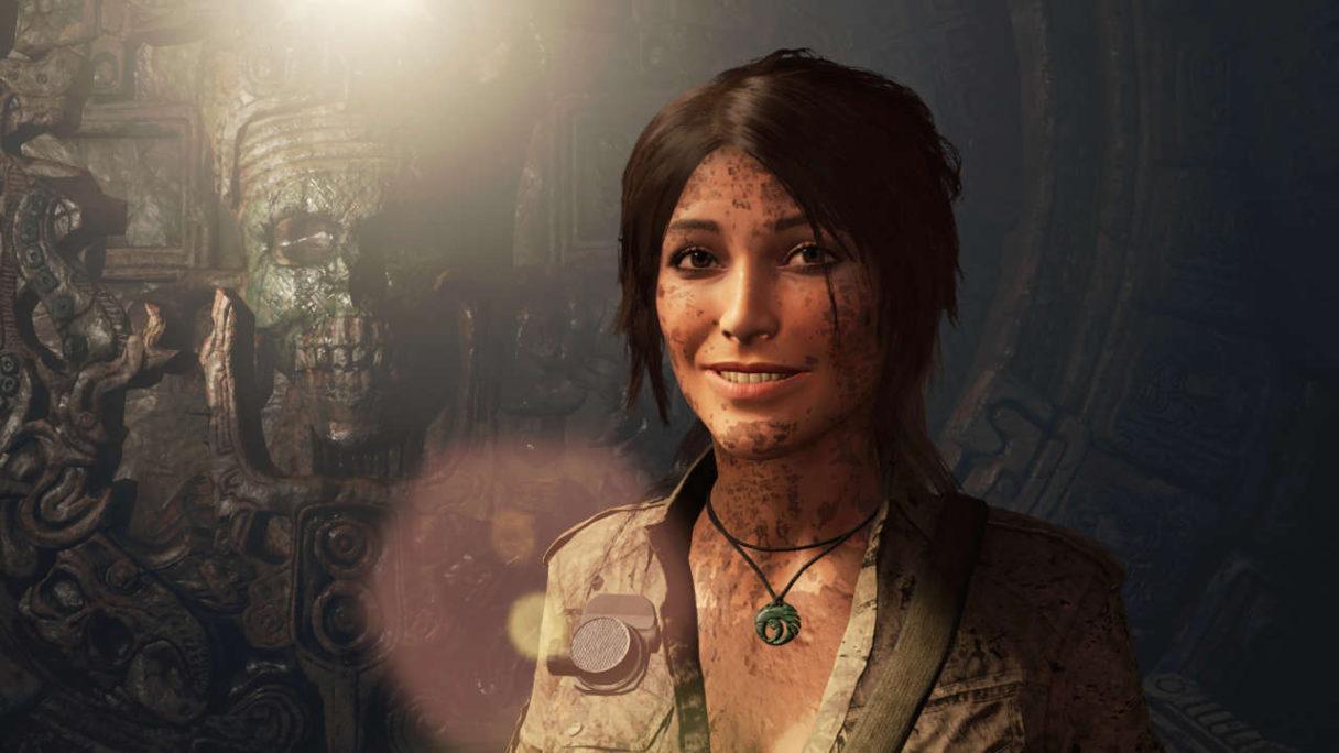 Shadow of the Tomb Raider - uśmiechnięta Lara Croft