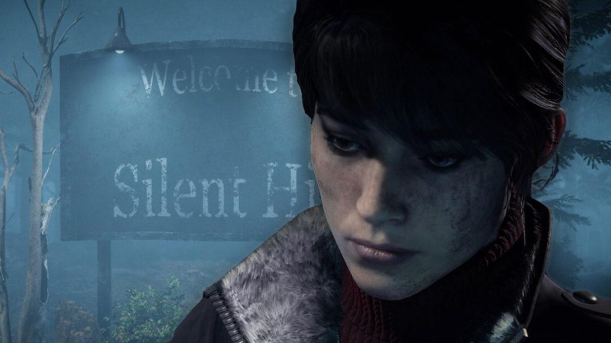 Marianne z The Medium od Bloober Team na tle Silent Hill
