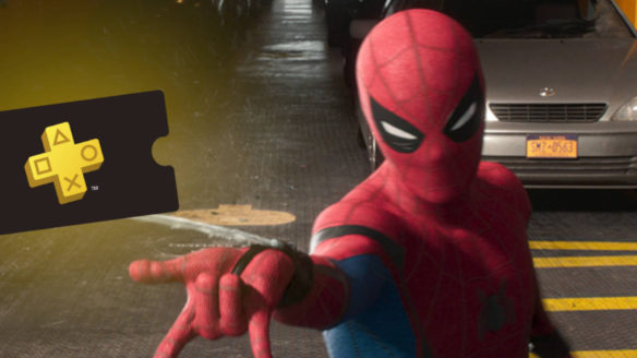Spider-Man strzela siecią po bilet na usługę PS Plus Video Pass