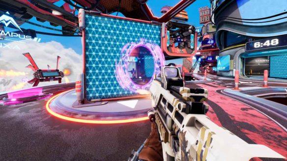 Splitgate - zrzut ekranu