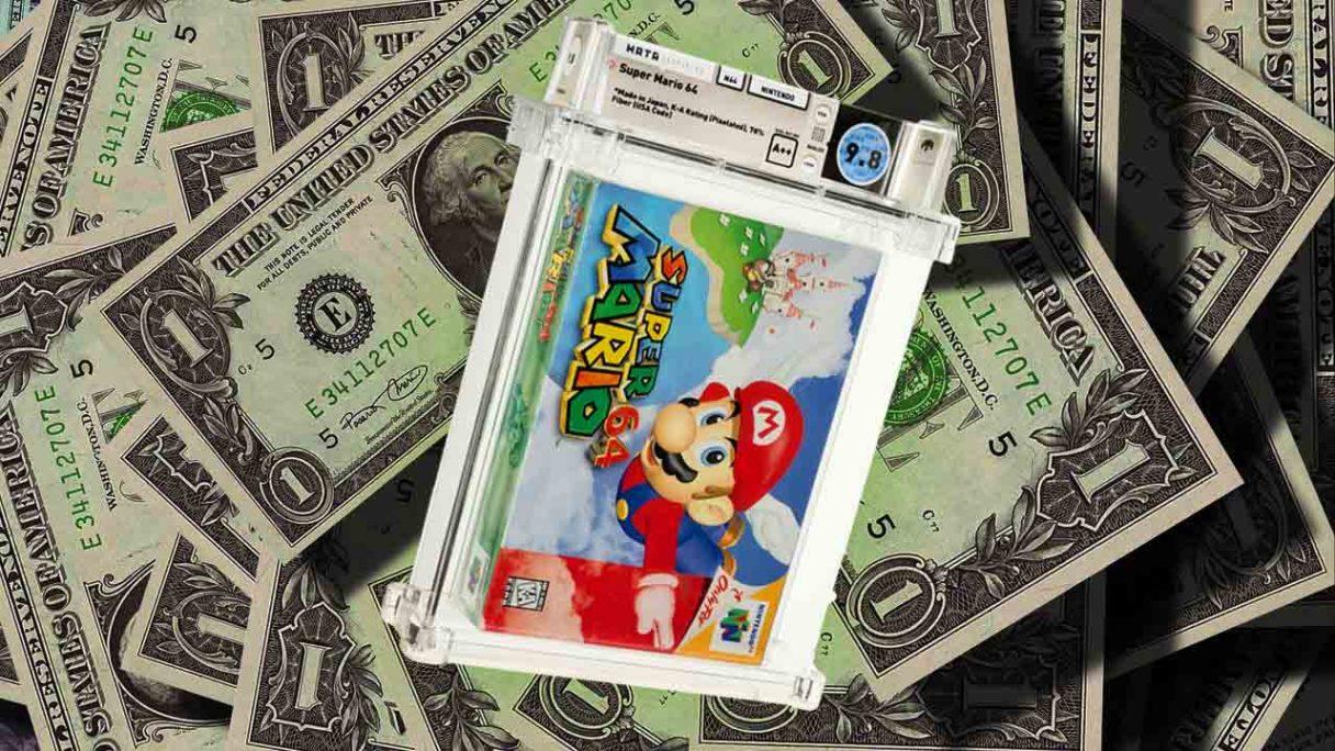 Najcenniejsza gra świata - Super Mario 64 w pudełku