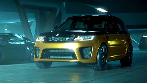 Test Drive Unlimited Solar Crown - złoty samochód