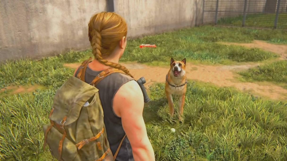 The Last of Us Part II - Abby i pies Bear