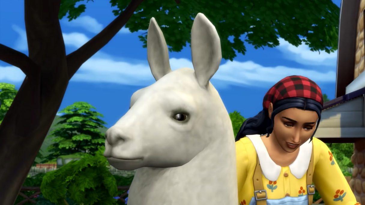 The Sims 4 lama Harold