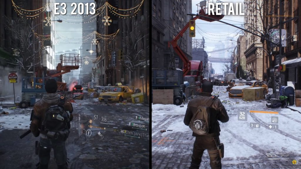 The Division downgrade