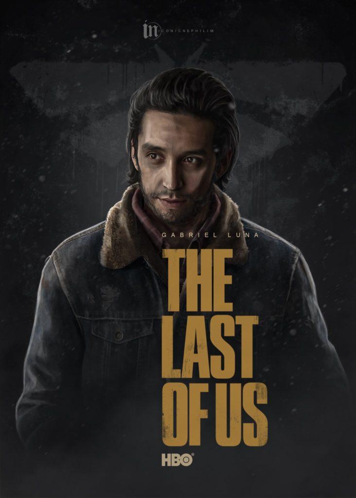 Serial The Last of Us - fanowski plakat 3
