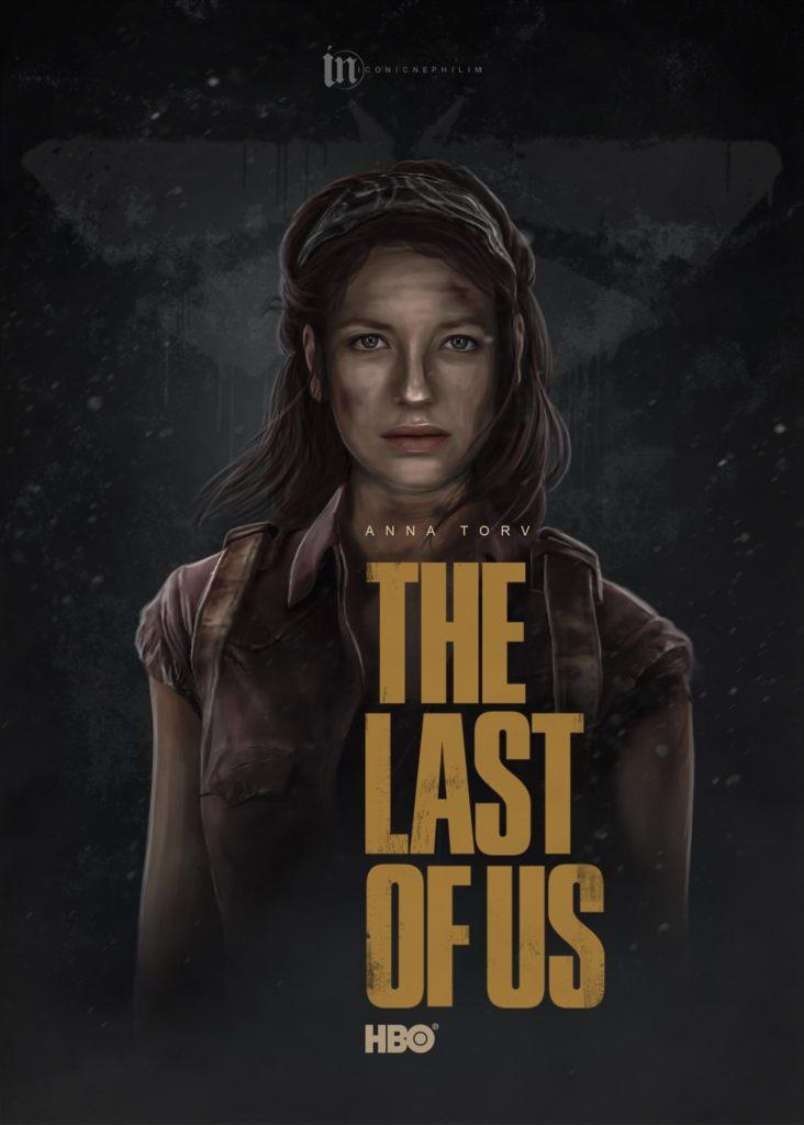 Serial The Last of Us - fanowski plakat 4