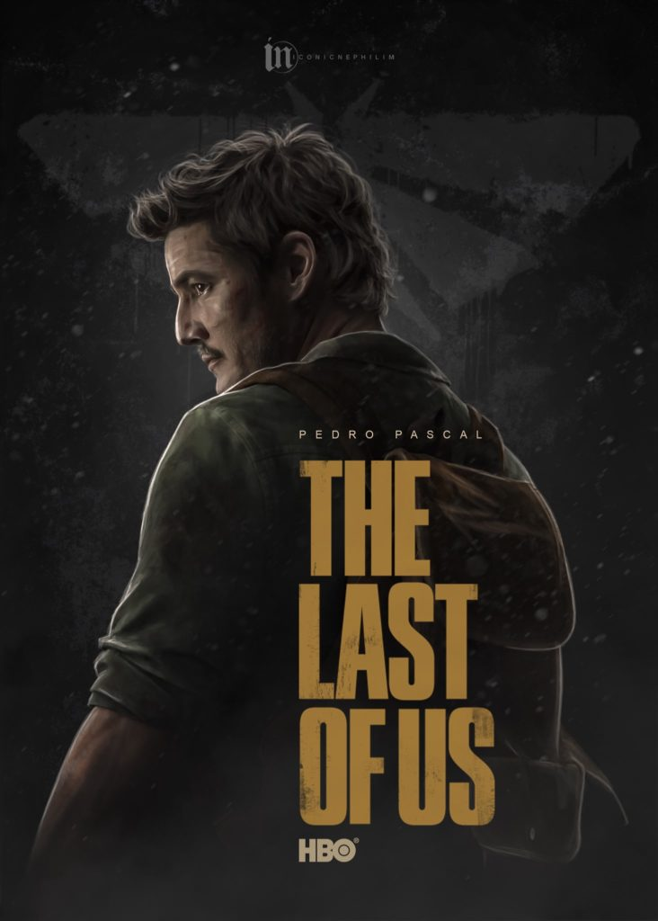 Serial The Last of Us - fanowski plakat 1