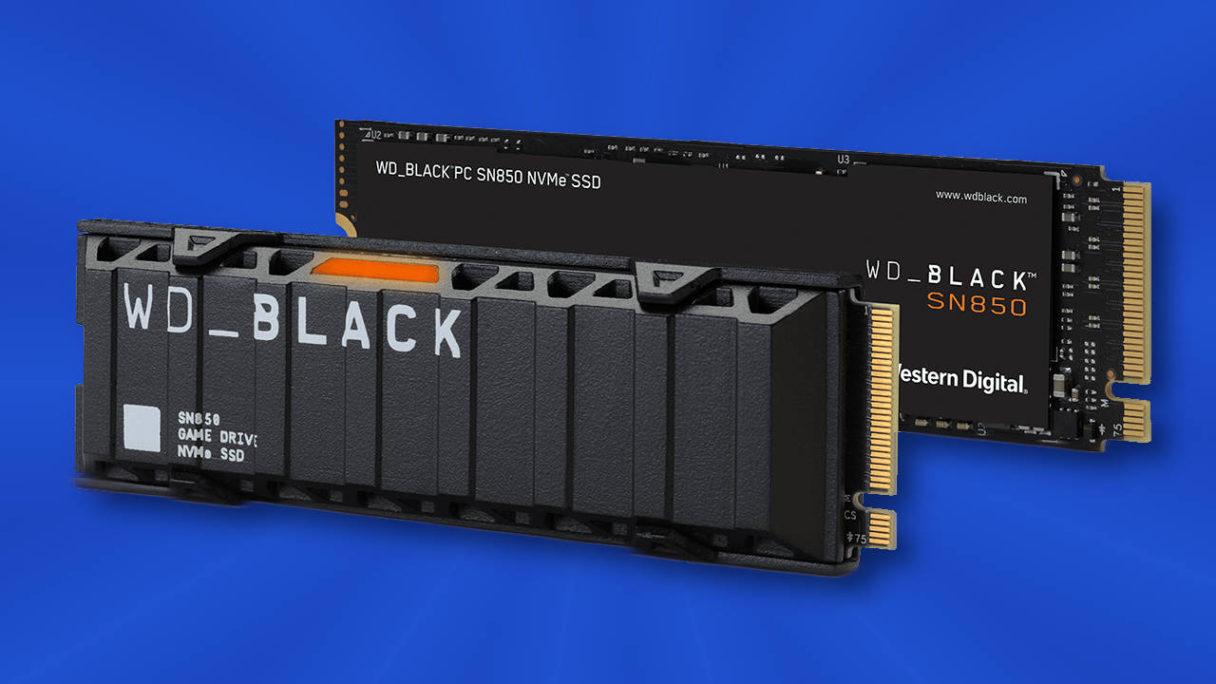 Western Digital WD_Black SN850 - dysk kompatybilny z konsolą PS5