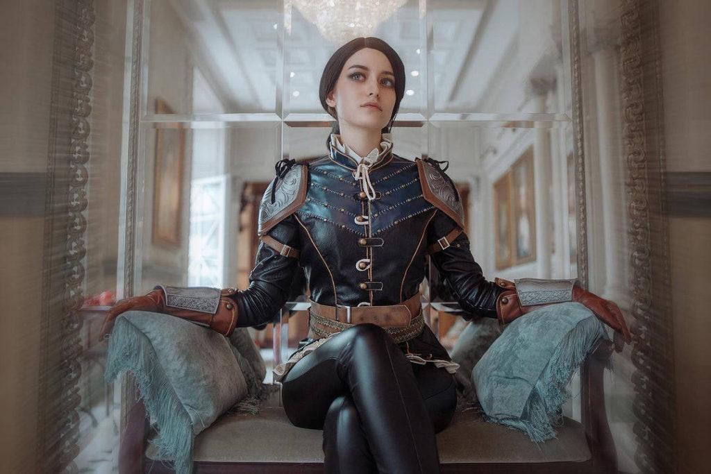 Wiedźmin 3 - cosplay Syanna jako torieaesth