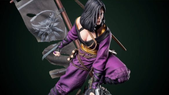 Wiedźmin 3 Dziki Gon figurka Kunoichi Yennefer