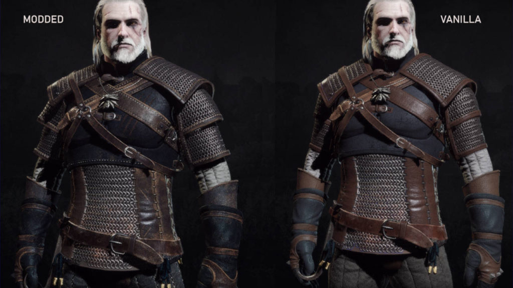 Wiedźmin 3 Dziki Gon - Geralt - Killing Monster Arm Pads