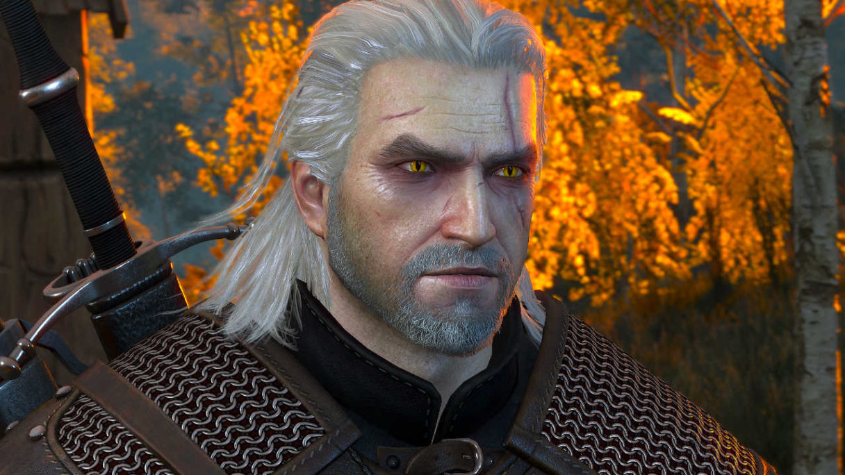 Wiedźmin 3 - Geralt Remastered twarz