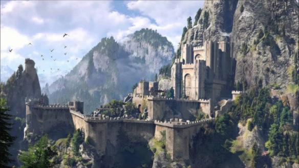 Wiedźmin 3 - Kaer Morhen panorama