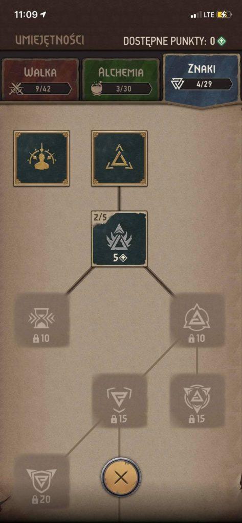 Wiedźmin: Pogromca Potworów - drzewka skilli 2