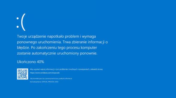 Windows 11 - Blue Screen z poprzednich wersji systemu