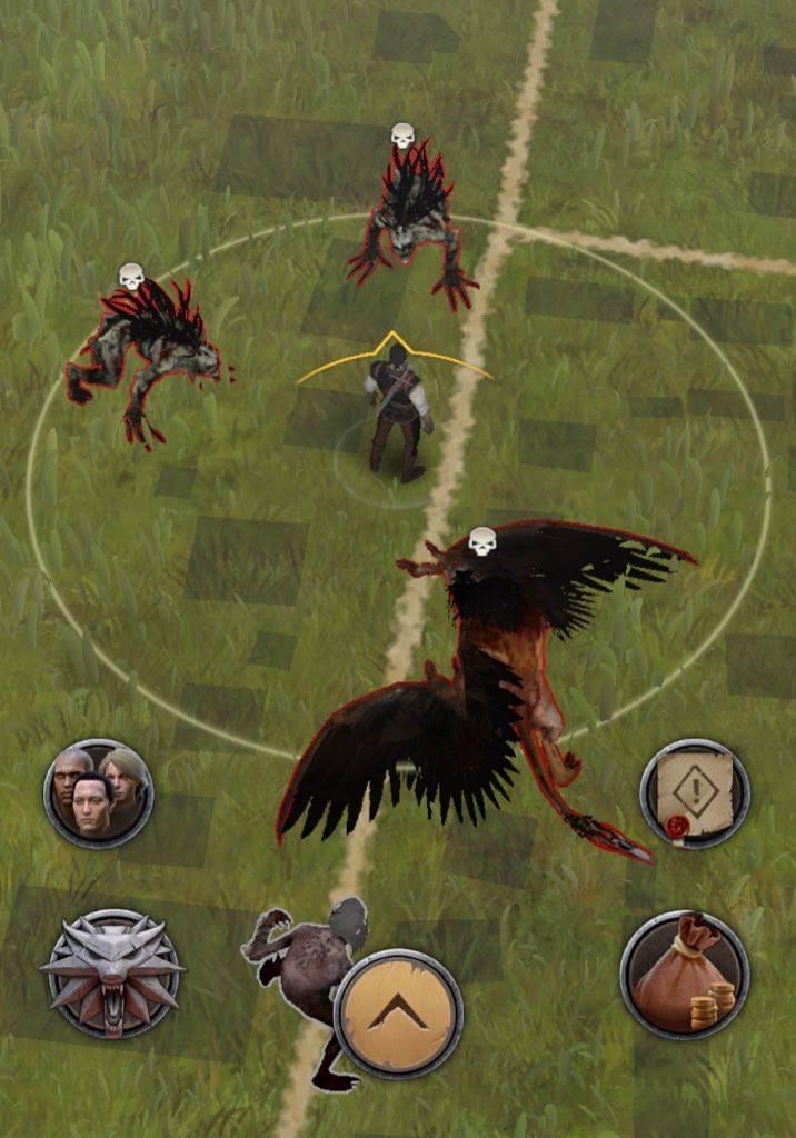 Wiedźmin: Pogromca Potworów - mapa
