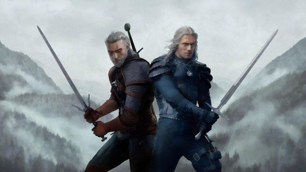 Geralt z Netflixa i z Wiedźmina 3