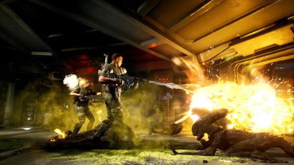 Aliens Fireteam Elite