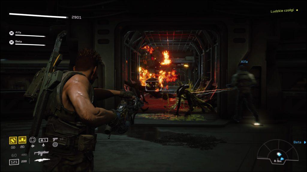 Walka z obcymi w Aliens: Fireteam Elite
