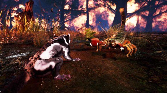 AWAY: The Survival Series - zrzut ekranu ze zwierzętami