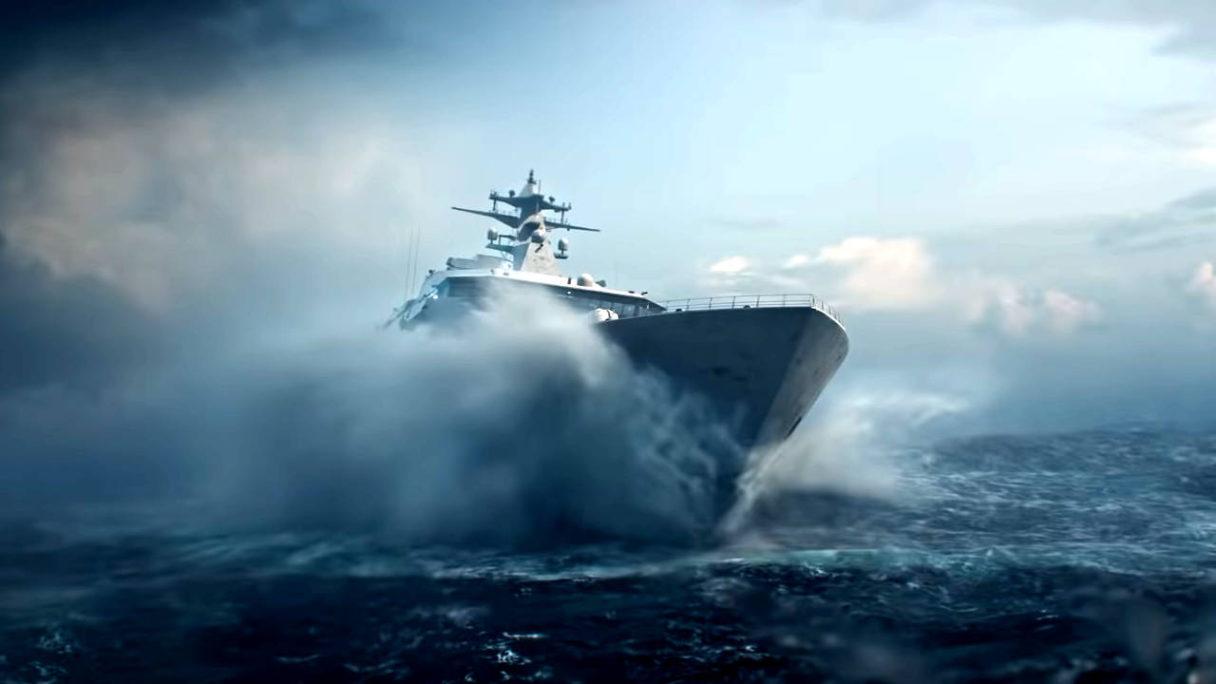 Battlefield 2042 - Exodus Short Film - statek na morzu