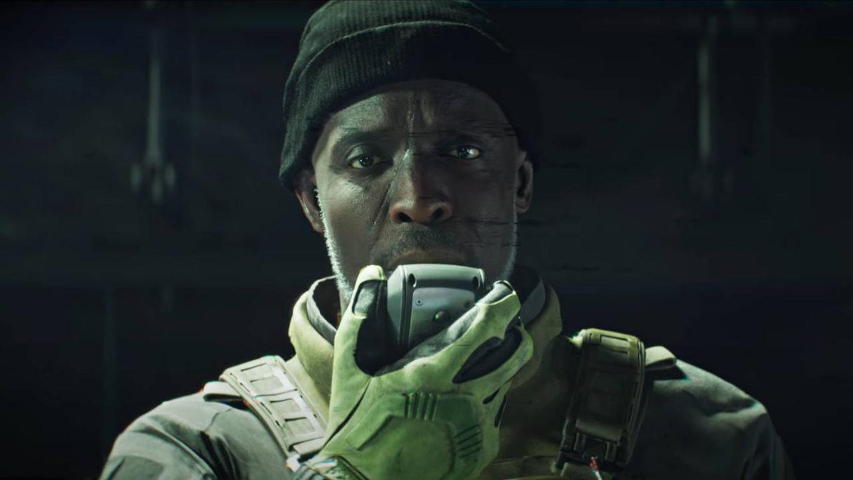 Battlefield 2042 - Exodus Short Film - żołnierz mówi do krótkofalówki