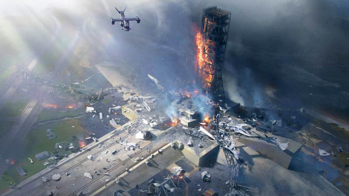 Battlefield 2042 - grafika z destrukcją
