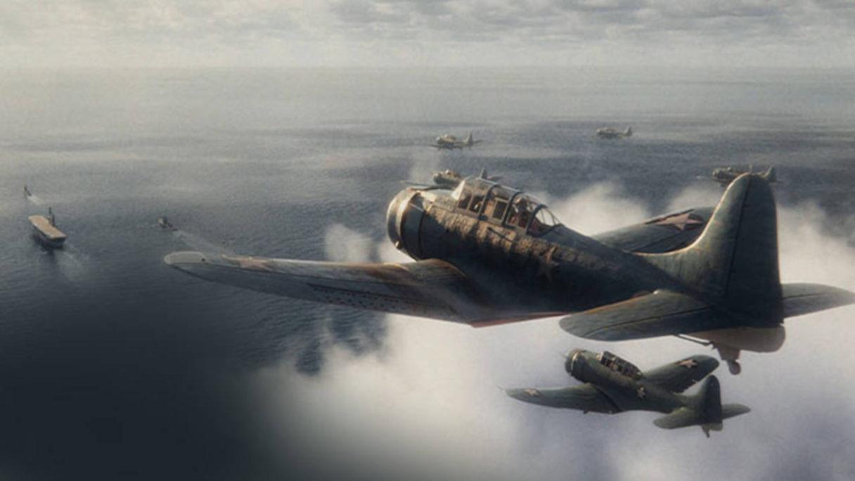 Call of Duty Vanguard - samoloty lecą nad oceanem