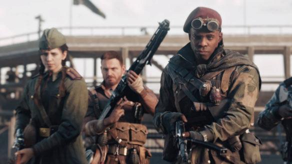 Call of Duty Vanguard - żołnierze trzymają broń w rękach i są gotowi do walki