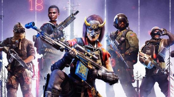 Call of Duty Warzone - żołnierze z piątego sezonu z brońmi w cool pozach