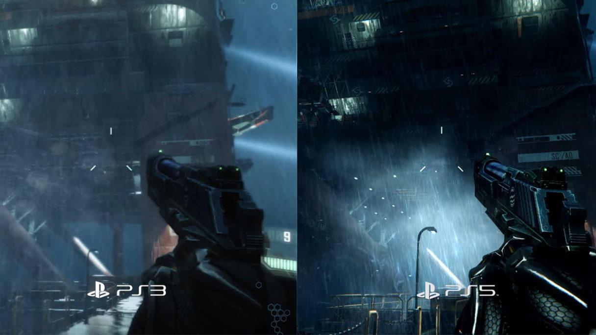 Crysis Remastered Trilogy - porównanie PS5 i oryginałów z PS3