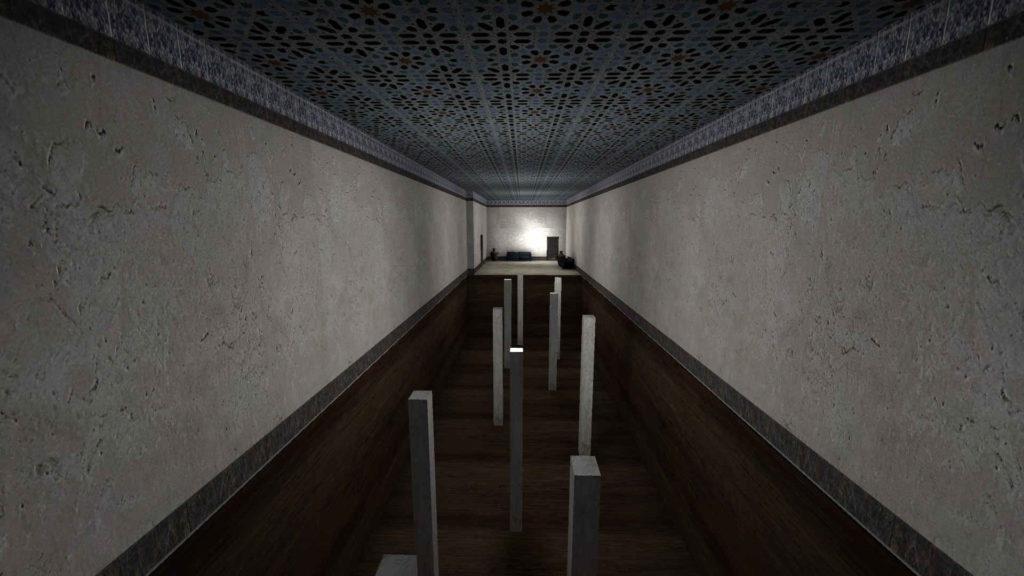 CS GO Mirage Story Mode - parkur wewnątrz budynku