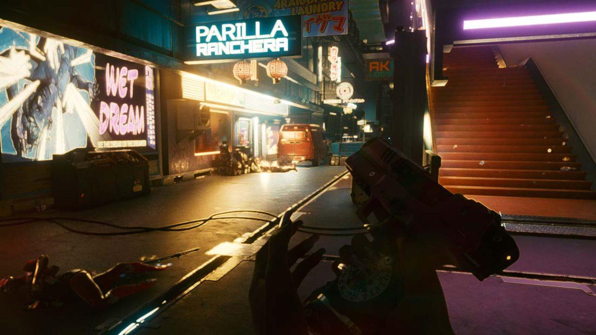 Cyberpunk 2077 - zrzut ekranu Planeta Gracza