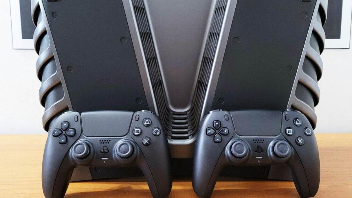Zdjęcie devkitu PS5