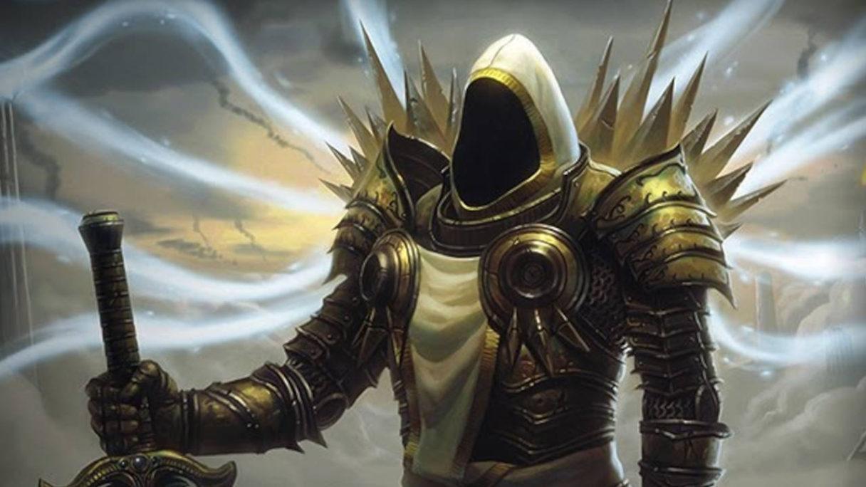 Diablo II Median XL - paladyn z mieczem