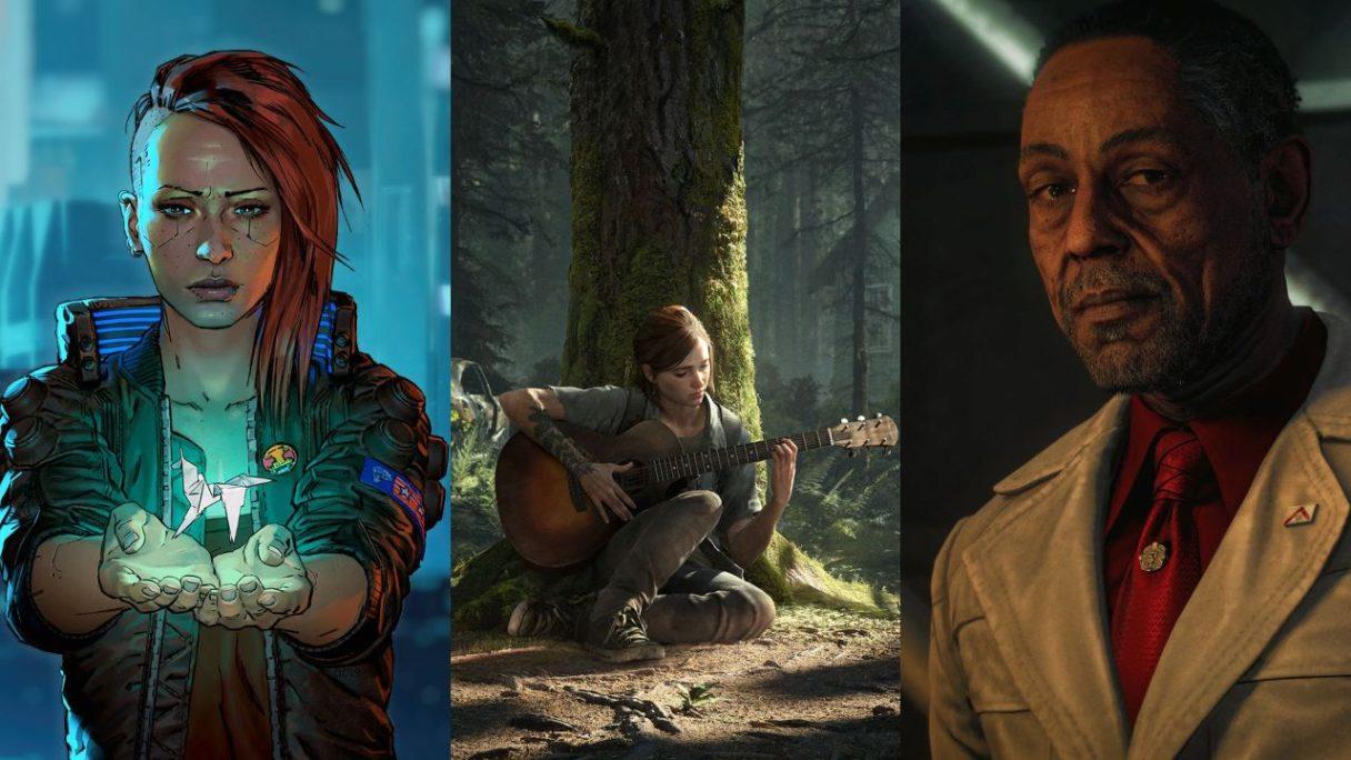 DoGRYwka - Vi z Cyberpunk trzyma w rękach origami, Ellie z The Last of Us 2 gra na gitarze pod drzewem, dyktator z Far Cry 6 krzywo patrzy