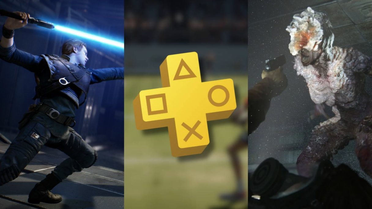 DoGRYwka - Star Wars Jedi_ Fallen Order, logo PS Plus, The Last of Us Part II