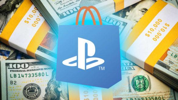 Doładowanie PSN - logo PS Store