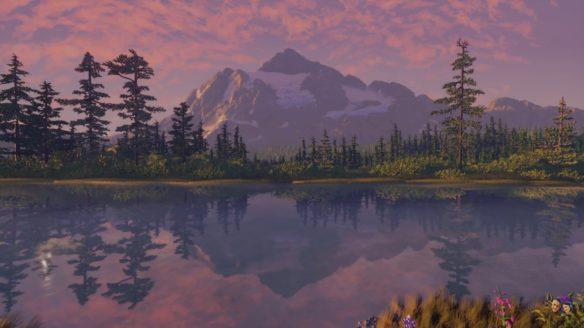 Dreams Sunrise at Picture Lake