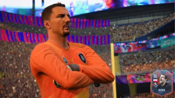 FIFA 22 - Jerzy Dudek krzyżuje ramiona i ma niezadowoloną minę