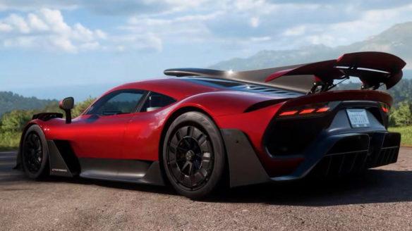 Forza Horizon 5 - auto z okładki