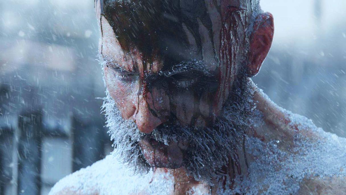 Frostpunk 2 - zamarznięty mężczyzna