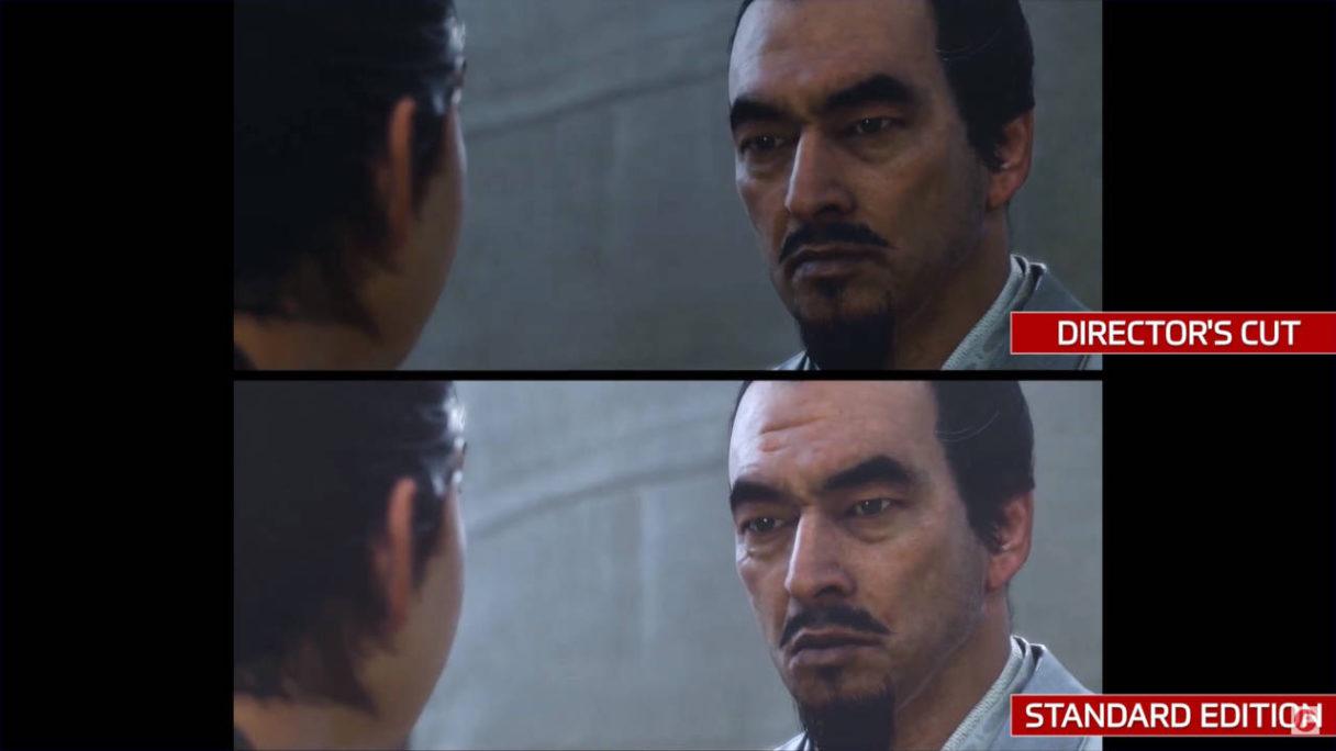 Ghost of Tsushima Director's Cut - porównanie graficzne