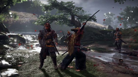 Ghost of Tsushima - zrzut ekranu
