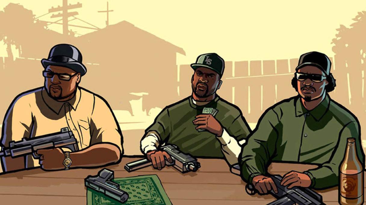 GTA San Andreas - postacie